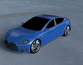 Tesla Model S P85 HDRI