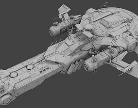 3D Super Space Battleship