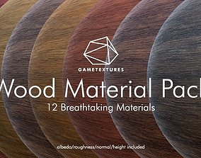 3D Wood Material Pack by GameTextures