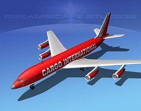 Boeing 707 Cargo Intl 3D