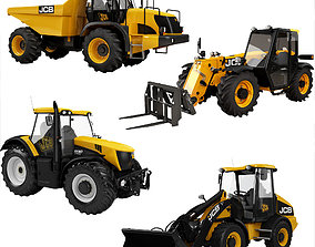 3D model JCB Heavy Vehicle Industrial Collection 4