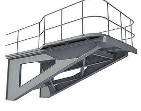 3D model Industrial Element 01