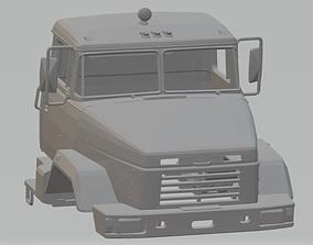 KRAZ 6322 Printable Cab Truck