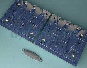 3D print model 20-30-40 gram D Metal C Likeness Metal Jig