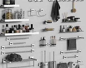 Bathroom accessories 25 3D model
