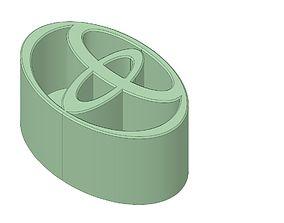 3D print model Toyota Emblem Pen Holder