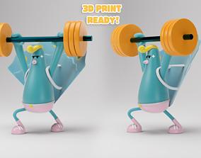 Peacock Lift 3D print model