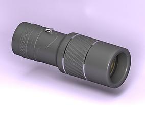 Monocular 3D asset