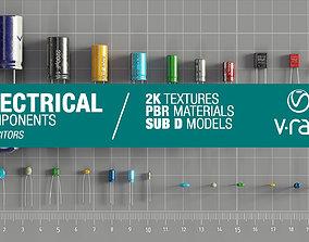 3D model Electrical components vol6