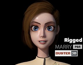 Marry Rigged 3D model