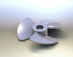 FAN OR TURBINE BLADES 3D print model