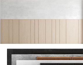3D Decorative wall panel set 44