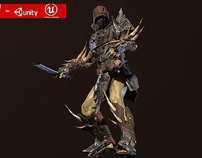 3D model Orc assasin 2