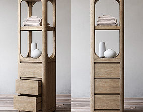 furniture RH MARTENS MEDIUM BATH CABINET 3D