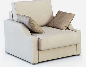 Armchair ALBA by Vicente Gallega 3D model