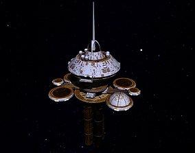 3D model STAR TREK - REGULA SPACE STATION