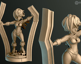 Power Girl 3D print model kryptonian