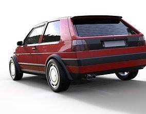 Volkswagen Golf MK2 3D model