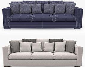 Asnaghi Boston Maxi Sofa 3D asset