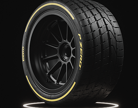 3D model Pirelli PZERO Tire Real World Details