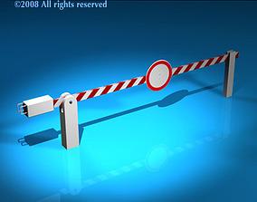 Boundary automatic barrier 3D