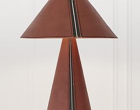 Formagenda EL SENOR Leather table lamp 3D model