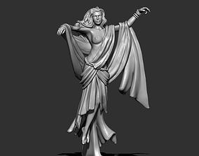 Greek Pythie - Selene 35mm scale - 3D print model