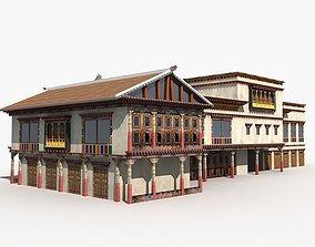 3D model Tibet House