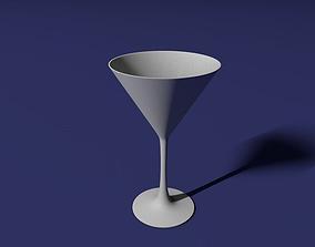 3D print model Martini glass