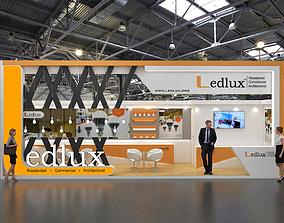 3D Exhibition Stand Design 9x3Mtr