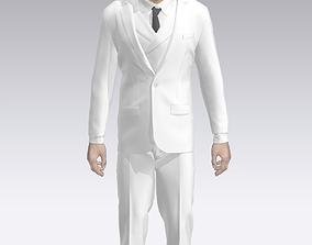 3D slim suit
