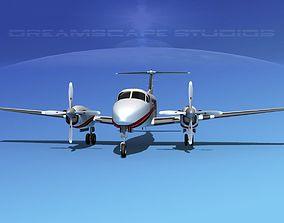 3D model Beechcraft 350 Super King Air V11