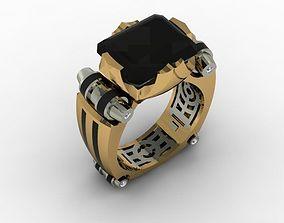 gift jewellery man ring 3D printable model