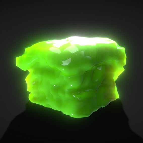 Low-Poly Slime