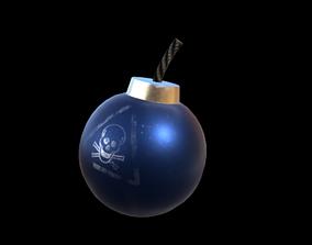 3D model Cartoonish Bomb