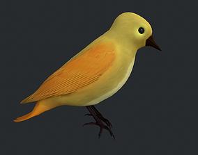 3D model Yellow Bird
