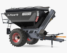 3D model Perard X-Flow 19 Transbordeur Black New