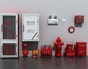 Fire Equipment Set 3D