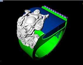 3D print model Maitreya Buddhas ring - ring of god of