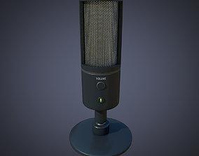 3D model Microphone Razer Seiren X