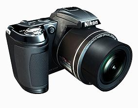 3D asset Nikon CoolPix L 120