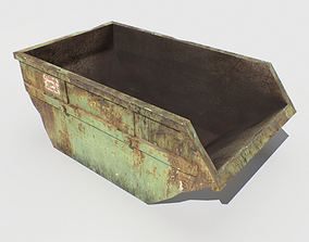 3D model Trash Container 1 PBR