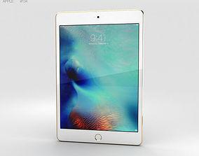 3D Apple iPad Mini 4 Gold
