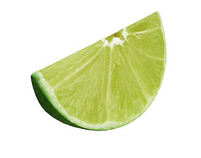 Lime slice 3D