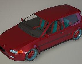 3D model PBR Honda Civic