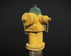 photogrammetry Fire Hydrant 3D model