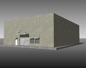 Simple Warehouse Sketchup model 3D