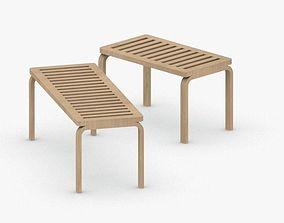 3D model 0538 - Bench Sofa
