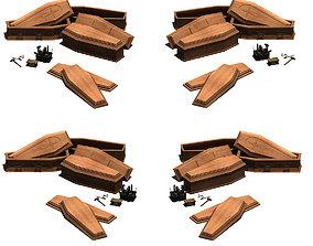 Coffin 002 crossbow 3D model