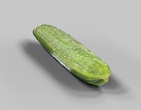 3D model VR / AR ready Cucumber
